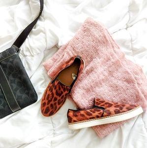 Faux-Suede Slip on Sneakers for Women
